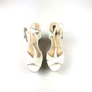 Jessica Simpson Women's White Wedges
